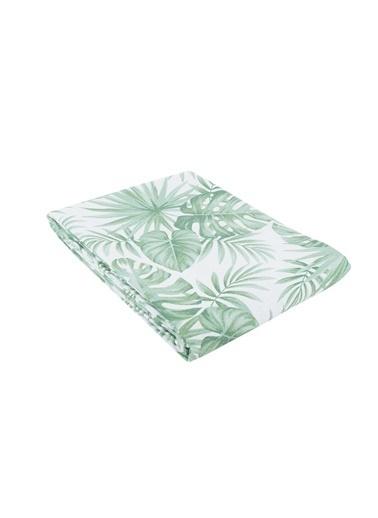Bella Maison %100 Pamuk Nieves Yeşil Pike Tek Kişilik (160x230 cm) Yeşil